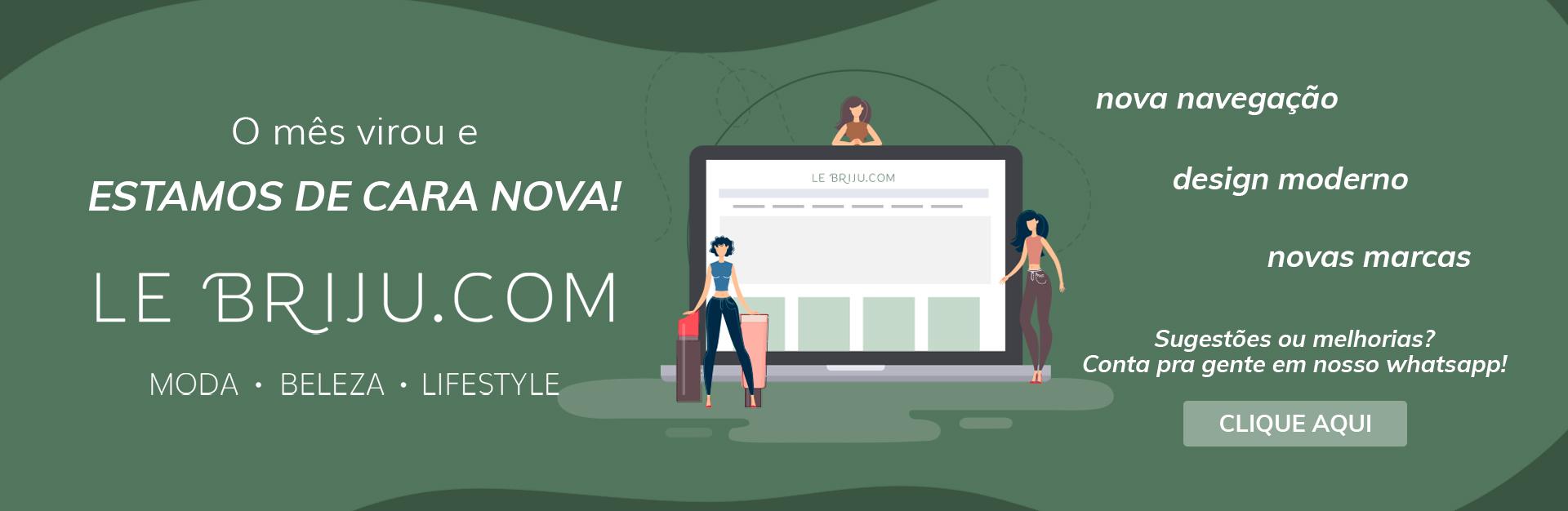 Lançamento Le Briju.com